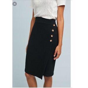 Saturday sunday buttoned cloud fleece skirt